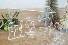 Image of Modern Nativity Set