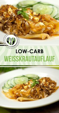 White cabbage casserole - Low Carb - LCHF - Healthy - Delicious - The white cab. - White cabbage casserole – Low Carb – LCHF – Healthy – Delicious – The white cabbage cass - Paleo Recipes, Healthy Dinner Recipes, Low Carb Recipes, Crockpot Recipes, Soup Recipes, Lunch Recipes, Free Recipes, Cena Paleo, Law Carb