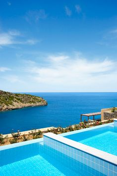 Greece is the perfect destination to simply relax (in a pool villa - if possible!) #Greece #Destination #Luxury