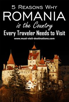 Loaded with history and medieval relics, the country has all elements to make it to the top of every traveler's bucket list. However, here are 5 reasons why Romania is the country every traveler needs to visit. Europe Travel Tips, European Travel, Travel Guides, Places To Travel, Budget Travel, European Trips, Travelling Europe, Visit Romania, Romania Travel