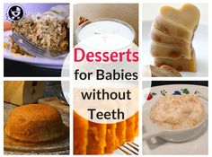 Some babies get teeth very late, but that doesn't mean that they can't go beyond purees and porridges! Here is a list of 50 foods for babies without teeth. Baby First Foods, Baby Finger Foods, 9 Month Old Baby Food, Baby Meal Plan, Baby Food Recipes, Cooking Recipes, Fingerfood Baby, Food Charts, Baby Eating