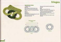 Crochet Fringes - Chart