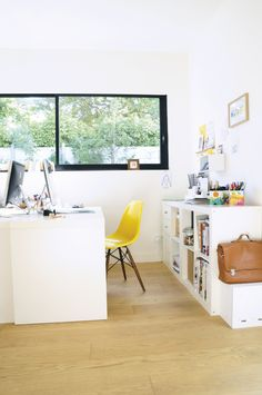 A touch of #Eames #yellow