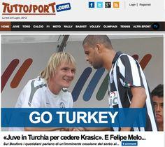 Tuttosport açılış sayfası…