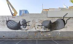 April 2015 will see a host of local and International Street artists converge on Perth for the Australian street art festival, Public Perth, Murals Street Art, Graffiti, Art Festival, Street Artists, Magazine Art, Urban Art, Art World, Contemporary Art