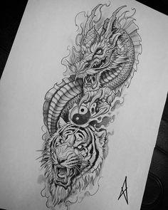 No photo description available. Animal Skull Tattoos, Bird Tattoos Arm, Dragon Sleeve Tattoos, Cool Forearm Tattoos, Badass Tattoos, Half Sleeve Tattoos Sketches, Half Sleeve Tattoo Stencils, Half Sleeve Tattoos For Guys, Tattoo Sleeve Designs