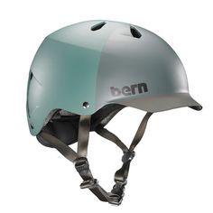 £31 Bern Men's Watts Bike Thin Shell EPS Matte Pine Green Helmet VM5EMPGH in Sporting Goods, Cycling, Helmets & Protective Gear | eBay