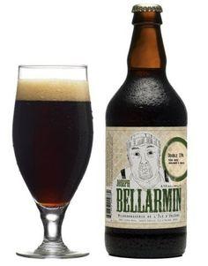 Cerveja Joseph Bellarmin, estilo Imperial / Double IPA, produzida por Microbrasserie d'Orléans, Canadá. 8.5% ABV de álcool.