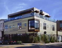 Modern architecture, modern exterior, curb appeal, SF Idea House