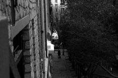 2 lovers in Montmartre