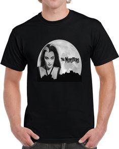 Lily Munsters  T Shirt