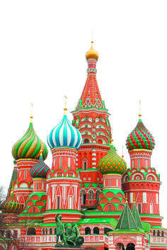 St. Basils Cathedral, Moscow, Russia.