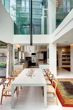 Exquisite Souldern Road victorian house extension in Brook Green, West London  by DOS Architects
