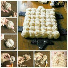 Oveja alfombra