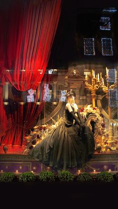 Marie Claire the Best Christmas Windows 2013 Ralph Lauren