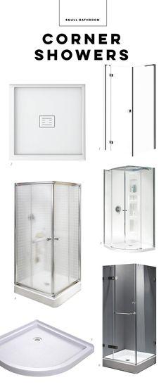 The smallest corner showers