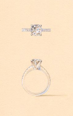 The Maia Setting. Naveya & Sloane engagement ring, made to order in Auckland, New Zealand.