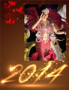 Nadia Mabel Villalaz Reina de Calle Abajo le da la bienvenida al #AñoNuevo 2009.