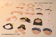 faces Stampin' Up Punch Art