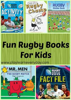 Fun Rugby Books for Kids