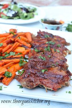 BBQ Back Back Ribs and Instant Pot Giveaway from The Organic Kitchen!