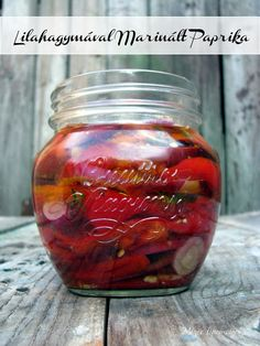 Pickles, Cucumber, Mason Jars, Canning, Vegetables, Food, Mint, Red Peppers, Essen