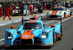24hLeMans 2017 :: Gulf color LMP2 & GTE-Am