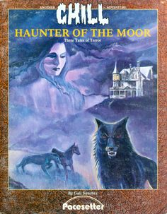 Chill: Haunter of the Moor ~ Pacesetter Classic Rpg, Sword And Sorcery, Playing Games, I Am Game, Swords, Videogames, Chill, Nerd, Gaming
