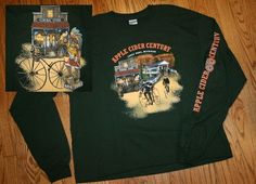 New 2005 APPLE CIDER CENTURY Three Oaks Michigan Bicycle Bike long-sleeve T-Shirt-Mens XL