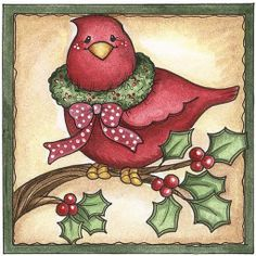 laurie furnell - Christmas robin