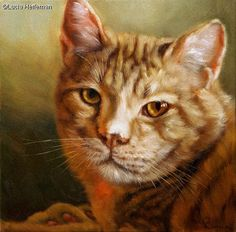Lucia Heffernan - Tiger Creation Photo, Animation, Oil On Canvas, Photos, Cats, Quote, Animals, Beautiful Images, Paint