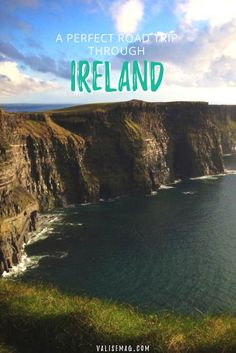 Want to take a road trip through Ireland? This is the ultimate itinerary and guide for an Ireland road trip in seven days or less. via @valerievalise/