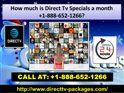 How do I upgrade my Direct Tv Deals 1-888-652-1266? With DIRECTV NOW, you're in control and can makeplan changesat any time. To check your current plan and upgrade your package or add premium programming. Place a call at our Direct Tv Deals 1-888-652-1266. Where, our talented DTV geeks will give you the proper suggestions of using Dtv in a very easy way. http://www.directtv-packages.com/