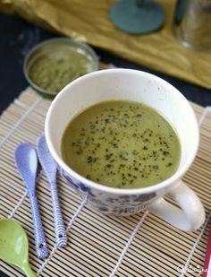 Matcha tea latte au chocolat blanc - Blog de Châtaigne