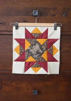Temecula Quilt Company: Threads of Memory block 9