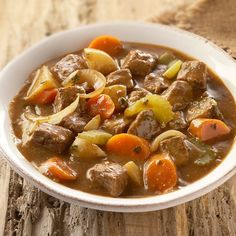 For an easy-to-prepare meal, use McCormick® Beef Stew Seasoning with beef cubes and vegetables in your slow cooker. The beef is deliciously tender...