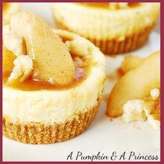 Mini Caramel Apple Cheesecake Recipe