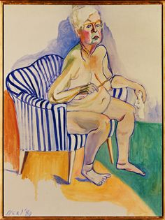 Alice Neel: Omakuva, 1980. National Portrait Gallery Smithsonian Institution, Washington D.C. Kuva: © National Portrait Gallery / Smithsonian Institution / Art Resource / Scala, Firenze 2015 © Estate of Alice Neel