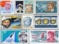 Los sellos de 'mujeres con ciencia'