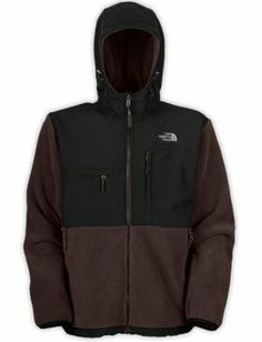 North Face Canada Mens Hoodie Fleece Clearance Brown