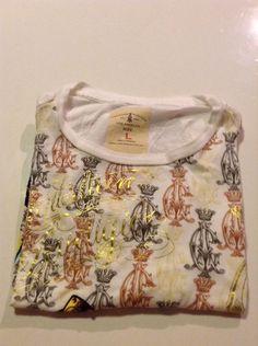 Christian Audigier  T Shirt Size L White Color #ChristianAudigier #BasicTee