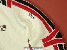 Fila Vintage 80's Rare Wool Sweater Retro Ski Winter Snow Board Italy Mens S