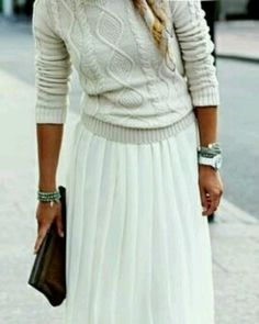 Classic, delicate and feminine, pretty pleats are a key trend for spring 2014 #streetstyle