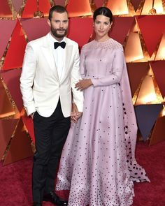 Jamie Dornan Model Actor Fifty Shades Darker Freed Fifty Shades of Grey Oscars 2017 Millie Amelia warner