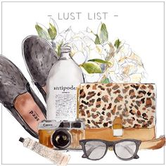 LUST LIST | BIRTHDAY WISHIN' - 1 day to go!   #seedheritage #antipodes #canoncamera #benah #raybans #grownalchemist #flowers #peonies