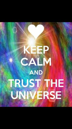Trust the universe it's waiting for you to let go so you can receive everything that's waiting to come into physical manifestation.  newdawnretreats.com.au healing retreats Bali