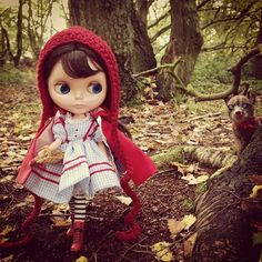 ".@dollytreasures | ""Who's afraid of the Big Bag Wolf!"" #kennerblythe #blythedoll #bl... 