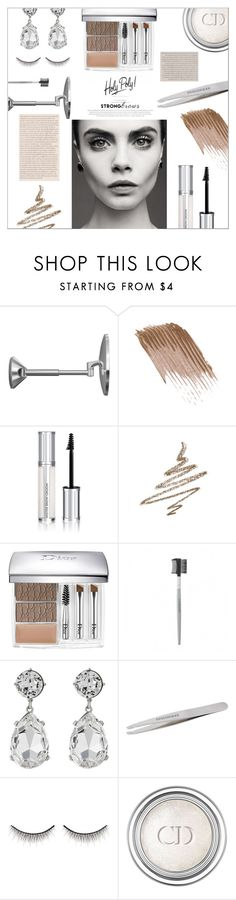 """⤷ 173"" by lovaconsultancy ❤ liked on Polyvore featuring beauty, simplehuman, Givenchy, Anastasia Beverly Hills, Christian Dior, Kenneth Jay Lane, shu uemura, BeautyTrend, strongbrows and boldeyebrows"