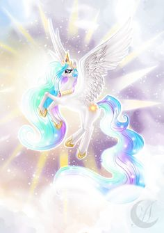 Well, now it really is a pony. I'll corrected this one picture [link] princess Celestia (c) Lauren Faust My Little Pony: princess Celestia My Little Pony Princess, Mlp My Little Pony, My Little Pony Friendship, Princesa Celestia, Celestia And Luna, Unicorn Fantasy, Fantasy Art, My Little Pony Wallpaper, Imagenes My Little Pony