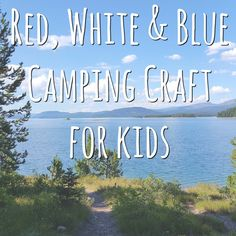 We love camping and I try and pull the kids inside the RV every few hours to cool off and relax. We love to play games, do puzzles and, of course, do crafts! I try and keep T.V. time to a minimum and spend as much quality time together as I can while we are away from the hustle and bustle of everyday life.